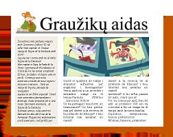 """Sukurk straipsnį """"Graužikų aidui""""! - Write un articolo de l'ECO del RODITORE - Geronimo Stilton"""