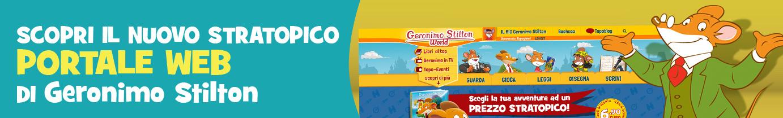 Il portale web di Geronimo Stilton