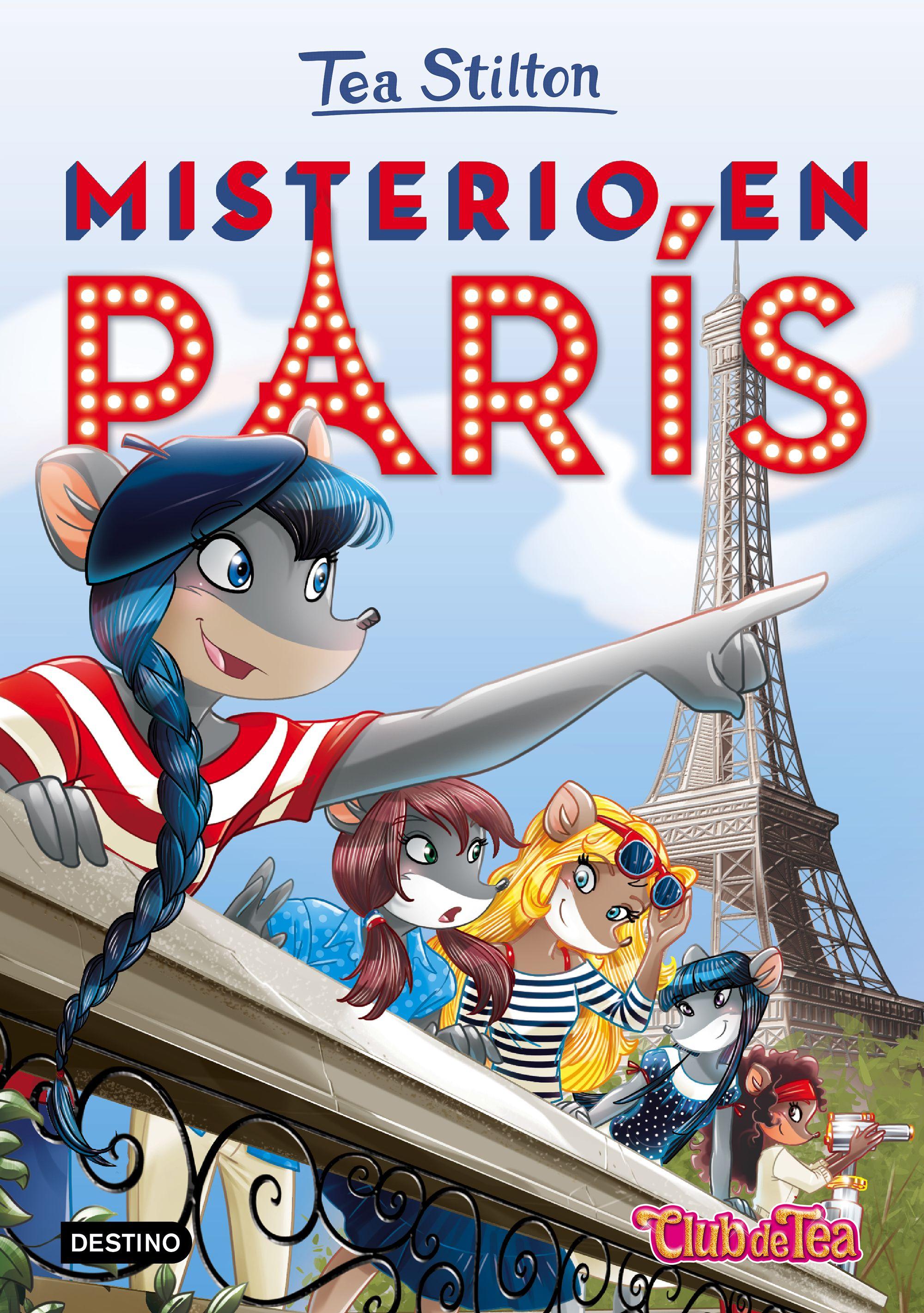 Misterio en París - Tea Stilton   I libri di Geronimo Stilton