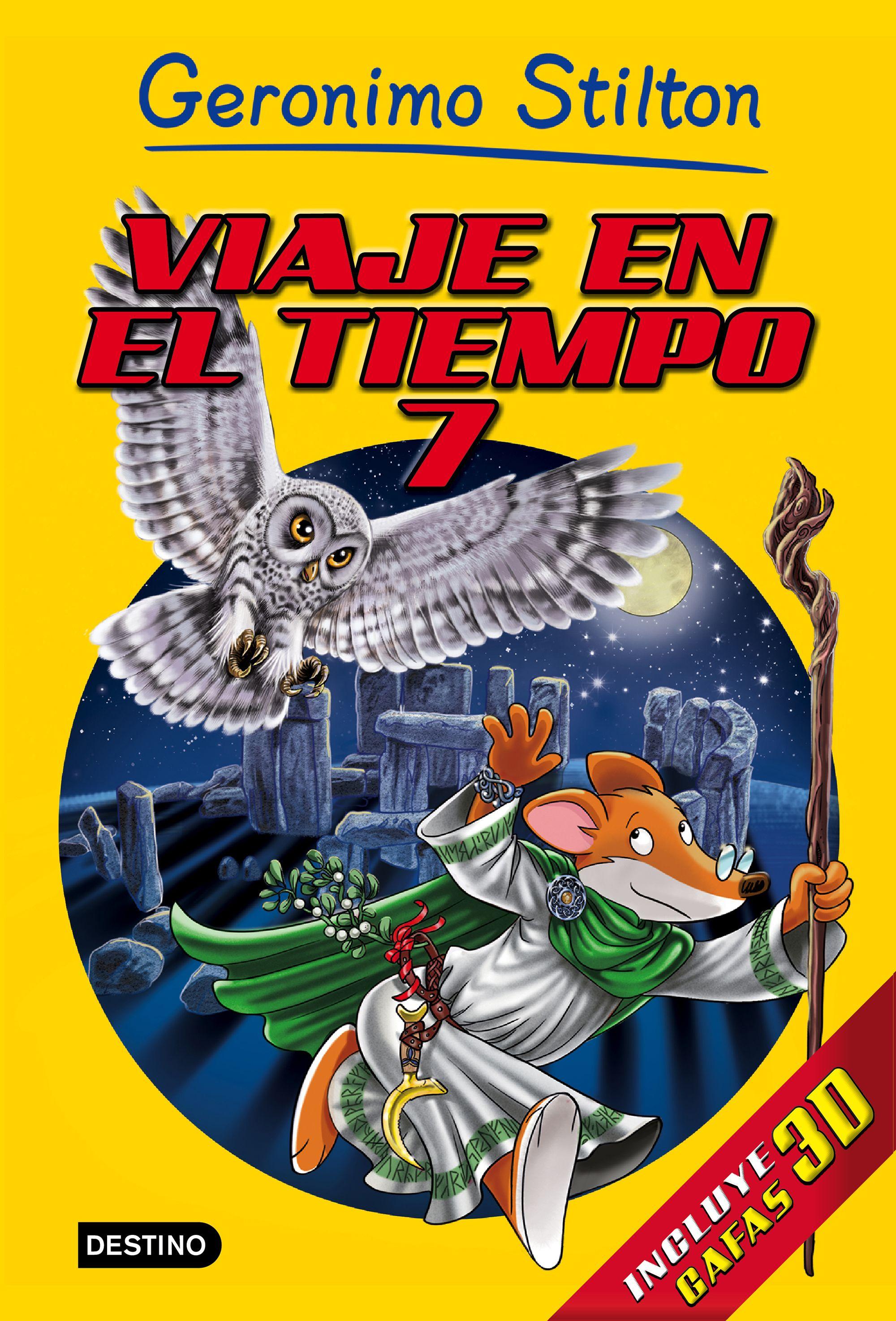 Libros especiales Geronimo Stilton. Viaje en el Tiempo 7