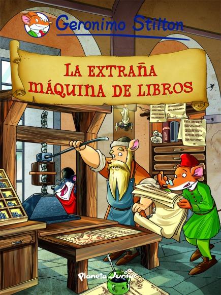 La extraña máquina de libros