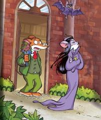 Un día de los enamorados... ¡de miedo felino!