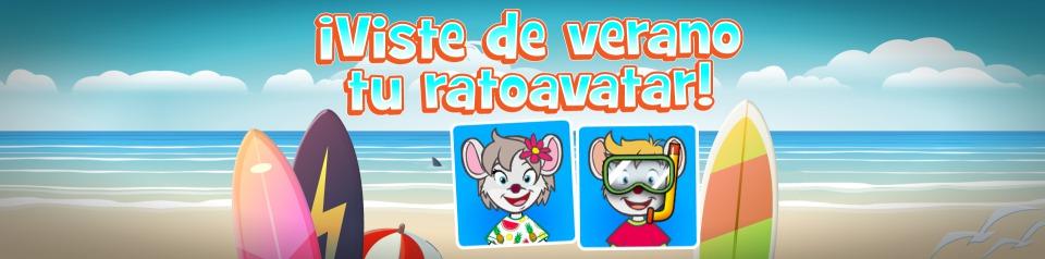 ¡Elige un 'look' veraniego para tu ratoavatar!