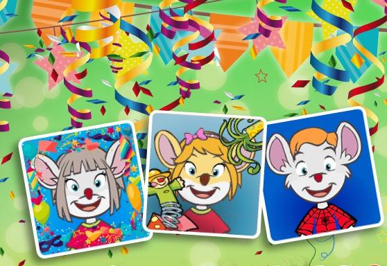 ¡Todo listo para un Carnaval ratonil!