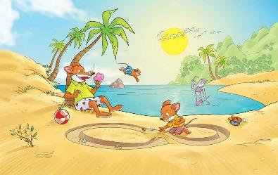 Une fantasouristique journée à la plage !