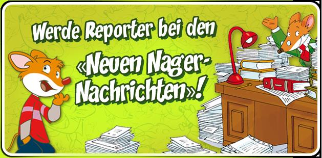 Werde Reporter