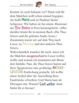 Die Thea Sisters und die Jagd nach dem blauen Skarabäus (Band 6)