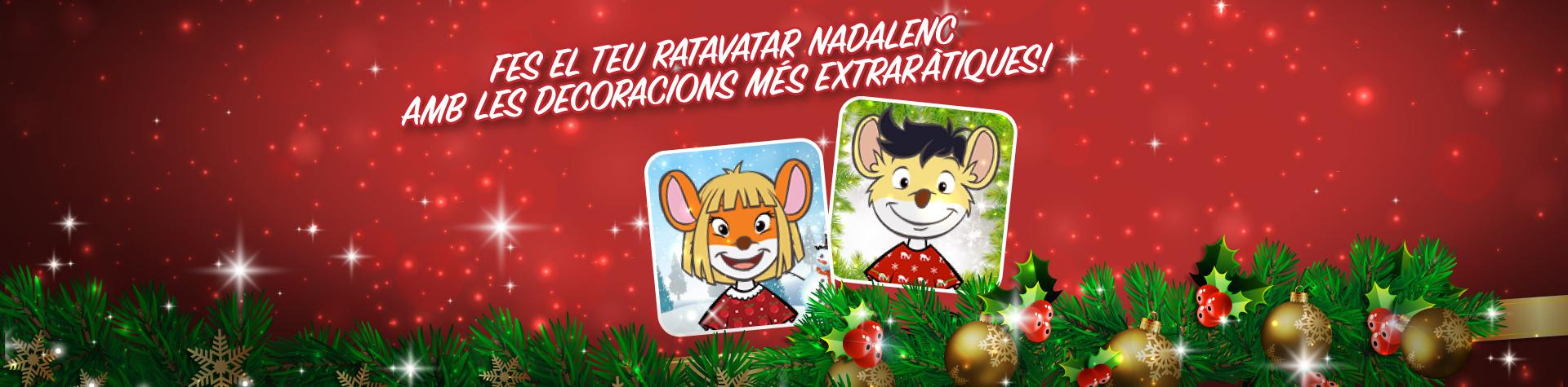 Fes-te el teu nou ratavatar de Nadal i descobreix les noves ratmoticones!