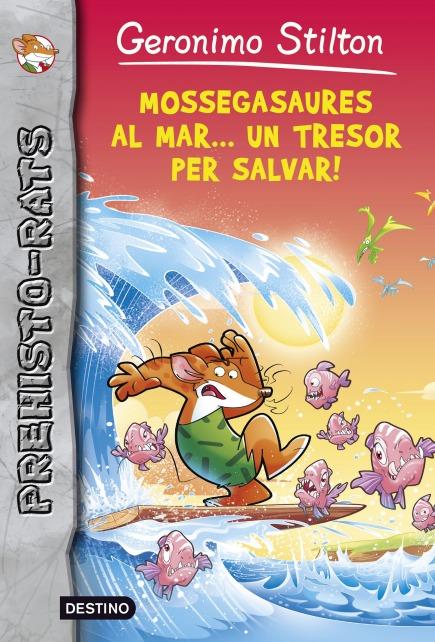Mossegasaures al mar... un tresor per salvar!