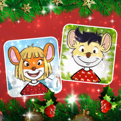 Arriben els ratavatars i raticones de Nadal a la web de Geronimo Stilton!