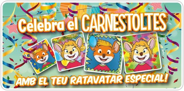 Ja teniu la meva petita sorpresa a la meva web!! Ratavatars especials de Carnestoltes!!