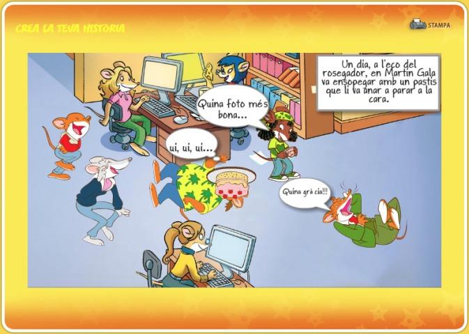 I vosaltres, ja heu dibuixat la vostra història protagonitzada pels millors ratolins de Ratalona?