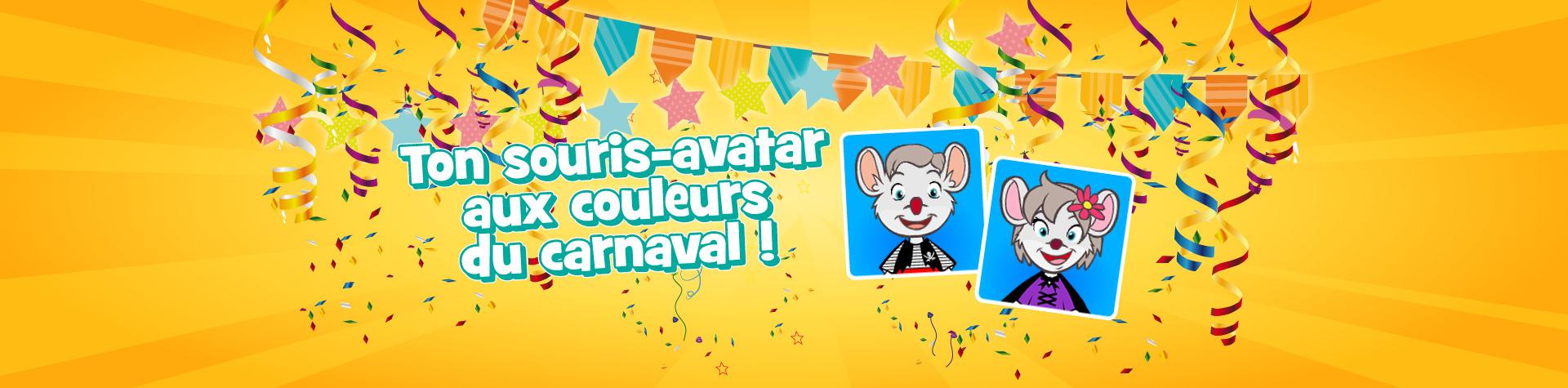 souris-avatar carnaval