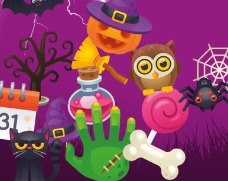 Un site aux couleurs d'Halloween !