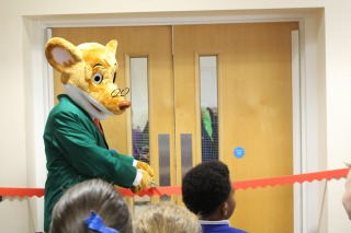 Geronimo Stilton's Library Grand Opening!