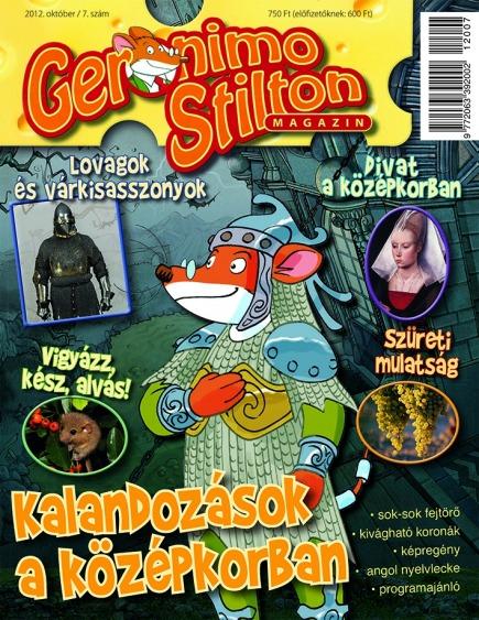 Geronimo Stilton Magazin - 2012. október / 7. szám
