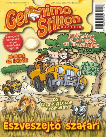 Geronimo Stilton Magazin, 2014. május-június / III. évfolyam 3.