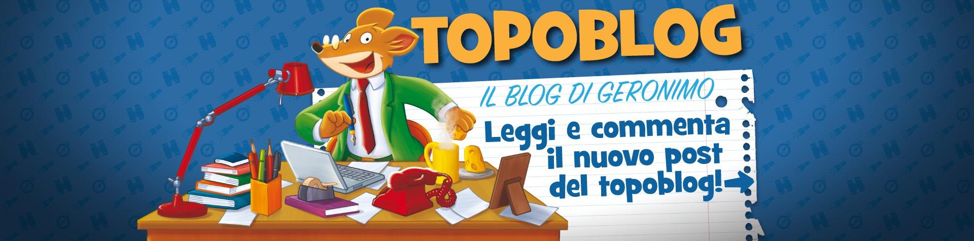 Leggi e commenta l'ultimo post del Topoblog