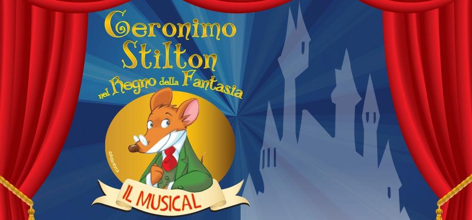 Il musical Geronimo Stilton nel Regno della Fantasia in scena a Milano