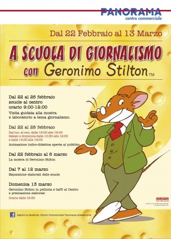 A scuola di giornalismo con Geronimo Stilton