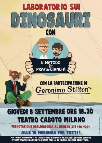 Laboratorio sui dinosauri con Geronimo Stilton in Pelliccia e Baffi!