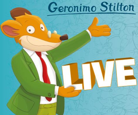 Geronimo Stilton in Pelliccia e Baffi a Merate