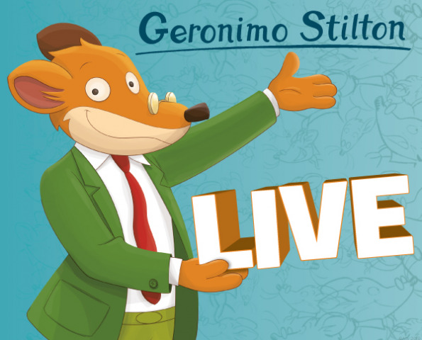 Geronimo Stilton in pelliccia e baffi al Milano Latin Festival 2019