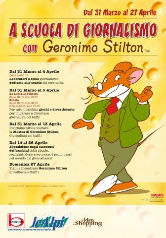Geronimo Stilton in Pelliccia e Baffi a Cirié