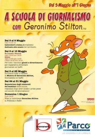 A scuola di giornalismo con Geronimo Stilton a Vanzaghello