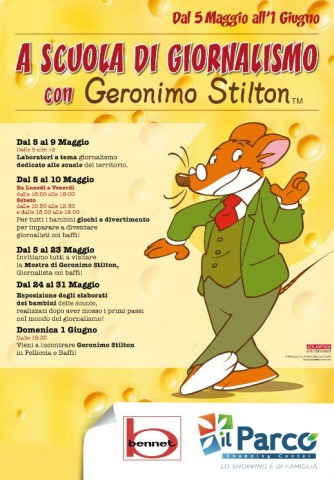 Geronimo Stilton in Pelliccia e Baffi a Vanzaghello