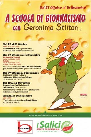 A scuola di giornalismo con Geronimo Stilton, a Sacile!