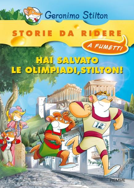 Hai salvato le olimpiadi, Stilton!