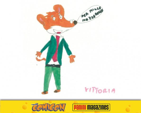 I tuoi disegni sul Magazine ufficiale di Geronimo Stilton!