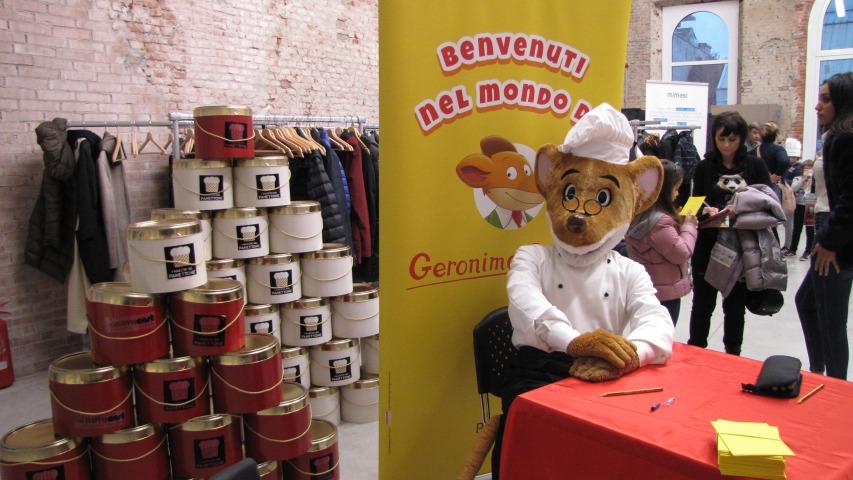 Geronimo Stilton in Pelliccia e Baffi a I Maestri del Panettone!