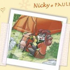 La stratopica cartolina di Nicky e Paulina!