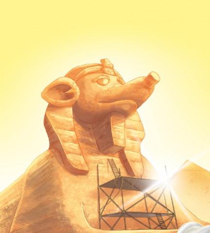 Una notizia con i baffi direttamente dall'Antico Egitto!
