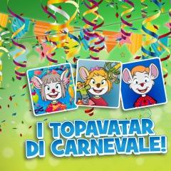 Sono arrivati i topavatar di Carnevale!