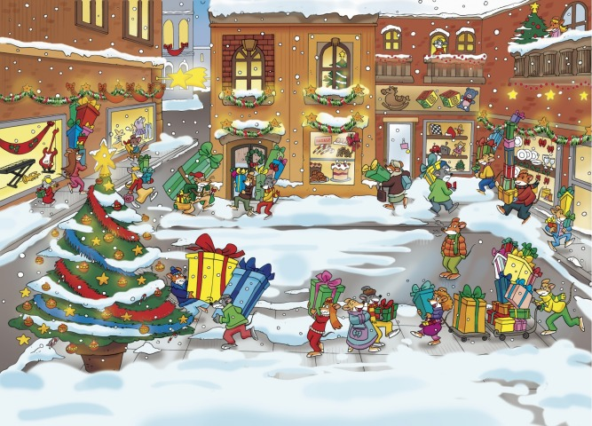 Stratopiche rime e disegni di Natale sul Topoblog!