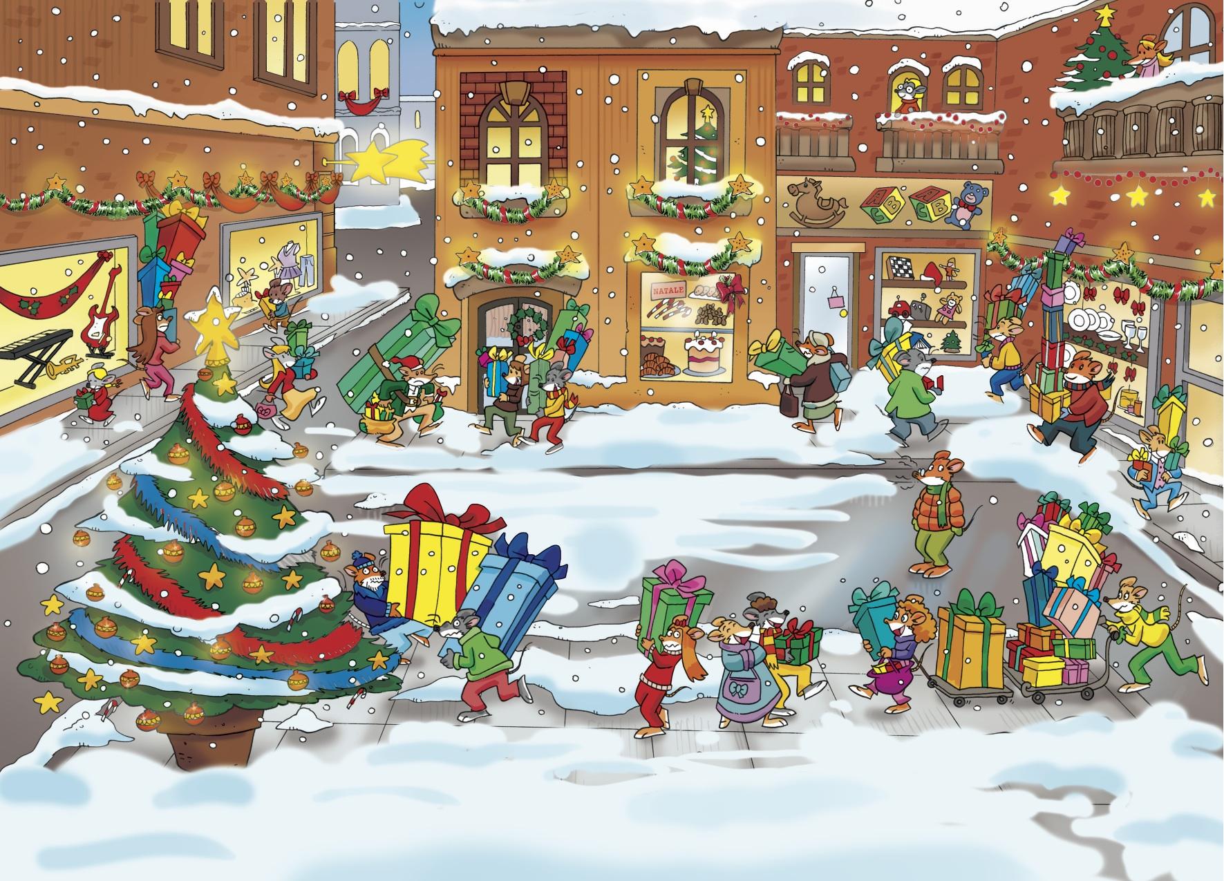 Girotondo E Natale.Le Vostre Rime Di Natale Sul Topoblog Topoblog Geronimo
