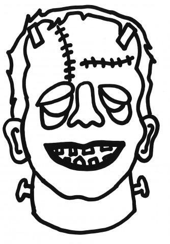 Het masker van Frankenstein