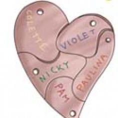 kleurplaten hartsvriendinnen