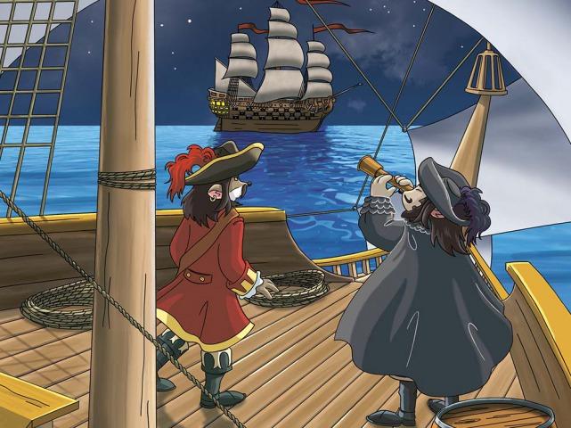Schip ahoi! De Zwarte Piraat is in aantocht!