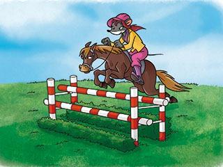 Paardrijden is cool!