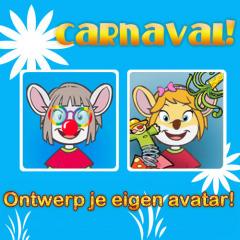 Tover jezelf om tot carnavalsmuis