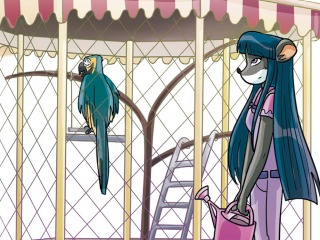 Verdwaalde vosjes en pratende papegaaien