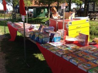 Geronimo op de Zaanse Kinderboekenmarkt