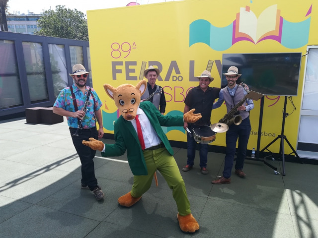 Parada das Mascotes - Feira do Livro de Lisboa 2019