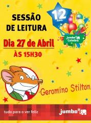Leitura com o Geronimo!