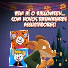 Buuuuu! Chegaram os Ratavatares de Halloween!