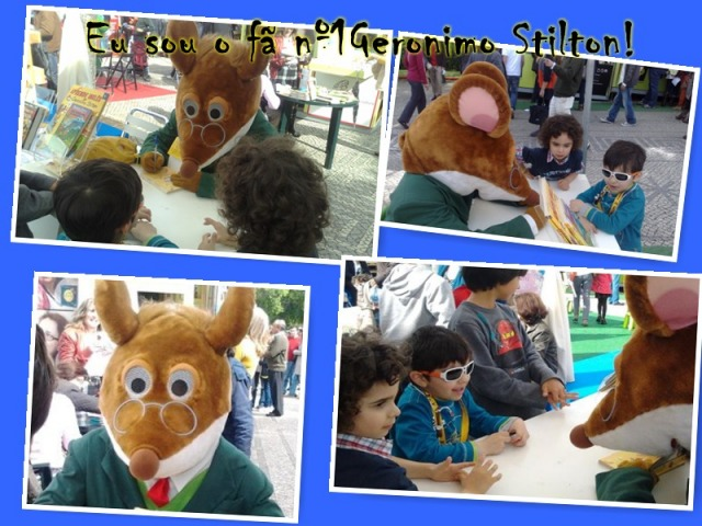 Vencedores do passatempo Geronimo Stilton